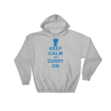 Keep Calm and Curry On Hooded Sweatshirt
