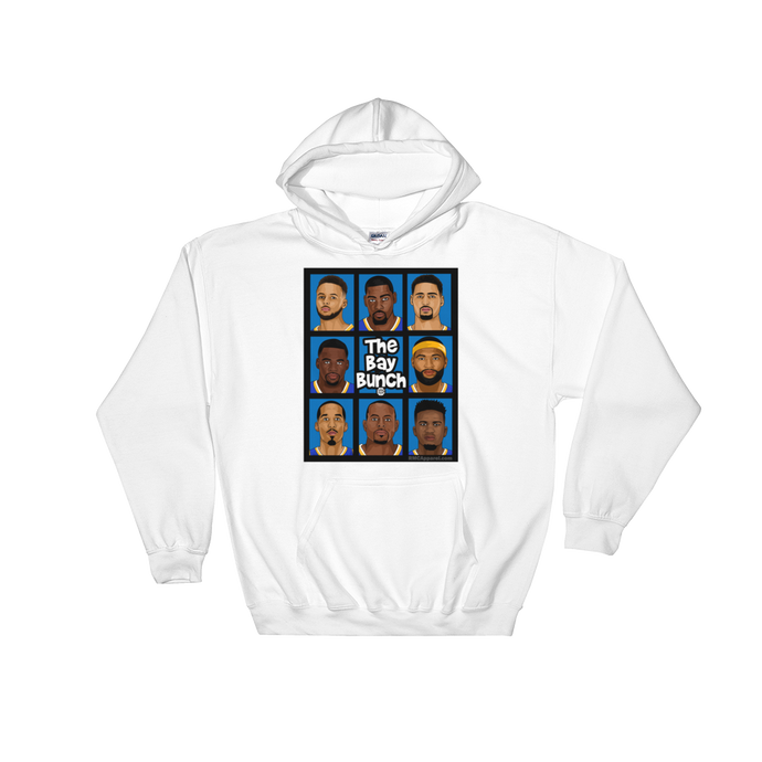 The Bay Bunch Golden State (Brady Bunch Parody) Hooded Sweatshirt