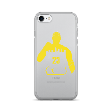 King James #23 My City (Cleveland) iPhone 7/7 Plus Case