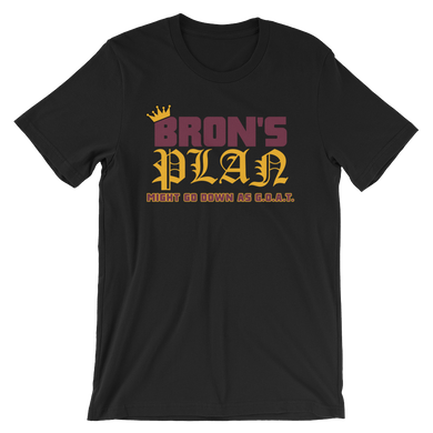 Bron's Plan (Might Go Down as GOAT) Cleveland T-Shirt