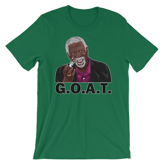 Bill Russell (Flipping the Bird) GOAT T-Shirt