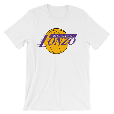 Lonzo BALL DON'T LIE Los Angeles Tee Shirt