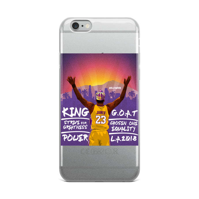 Los Angeles LeBron (2K Inspired) iPhone Cases (AL IPHONES)