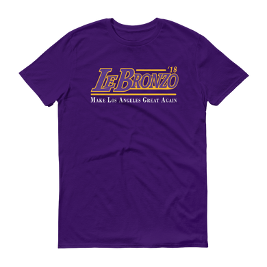 LeBronZo '18 (Make LA Great Again) Tee Shirt