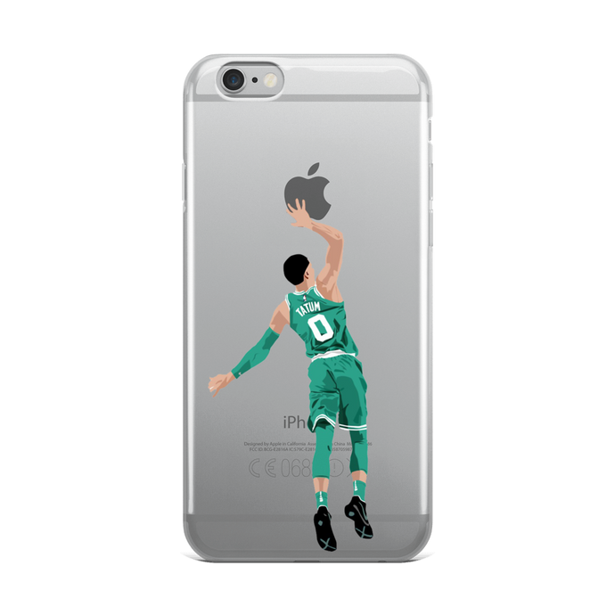 Tatum Dunking Apple Logo iPhone Case (ALL IPHONES)