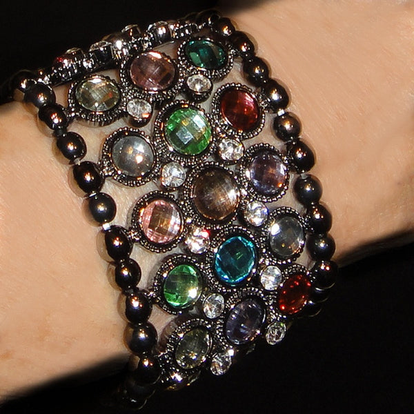 Colored Crystal Bracelet