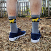 Endur Yellow Dog Socks