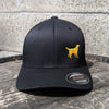 Yellow Dog Logo Flex Fit Hat