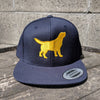 Navy Big Dog Snapback Hat
