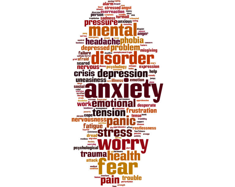 Words that cause anxiety