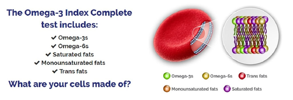 HealthMasters Omega-3 Index Test Includes | HealthMasters