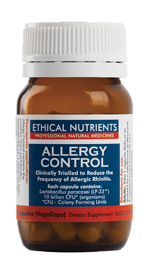 Ethical Nutrients Allergy Control 30 Caps | HealthMasters