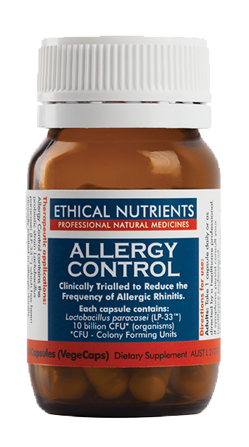Ethical Nutrients Allergy Control 30 Caps