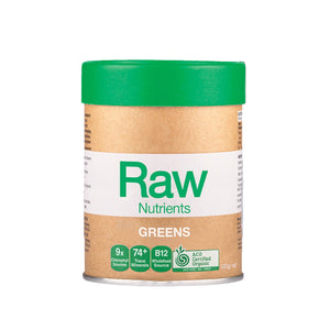 Amazonia Raw Nutrients Greens 120g 10% off RRP at HealthMasters Amazonia