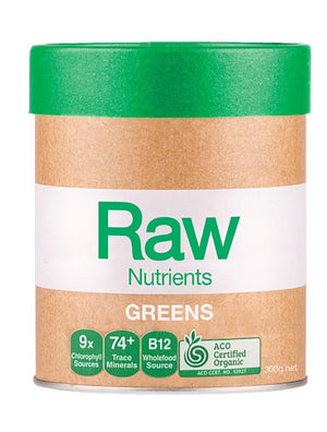 Amazonia Raw Nutrients Greens 300g 10% off RRP at HealthMasters Amazonia
