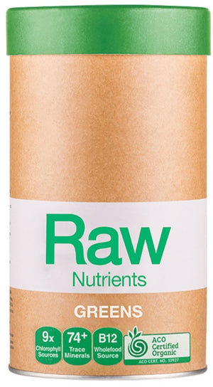 Amazonia Raw Nutrients Greens 600g 10% off RRP at HealthMasters Amazonia