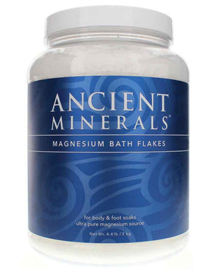 Ancient Minerals Magnesium Bath Flakes 2kg Discounted | HealthMasters
