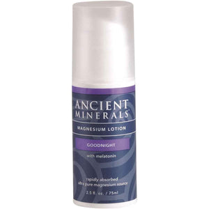 Ancient Minerals Magnesium Good Night Melatonin Lotion 75ml | HealthMasters