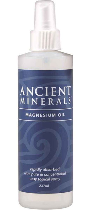 Ancient Minerals Magnesium Oil Spray 237ml | HealthMasters