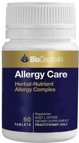 BioCeuticals Allergy Care 60 tabs 10% off RRP at HealthMasters BioCeuticals