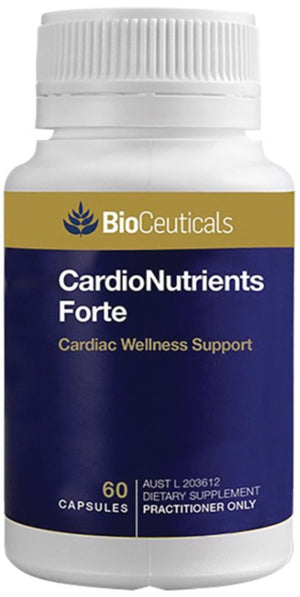 BioCeuticals CardioNutrients Forte 60 soft caps at HealthMasters BioCeuticals