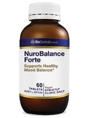 BioCeuticals Clinical NuroBalance Forte 10% off RRP at HealthMasters