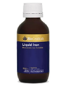 BioCeuticals Liquid Iron 200mL 10% off RRP | HealthMasters