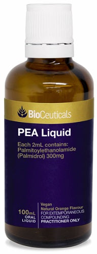 BioCeuticals PEA 100mL Liquid 10% off RRP | HealthMasters