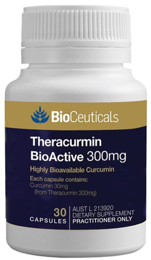 BioCeuticals Theracurmin BioActive 300mg 30 caps 10% off RRP at HealthMasters BioCeuticals
