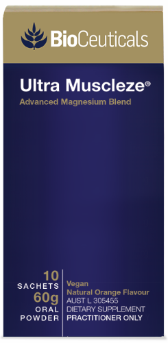 BioCeuticals Ultra Muscleze (10 sachets) 60g 10% off RRP at HealthMasters