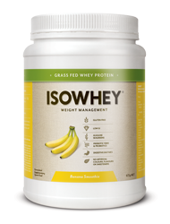 BioCeuticals IsoWhey Banana Smoothie 672g 10% off RRP | HealthMasters