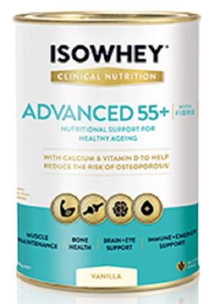 BioCeuticals IsoWhey Clinical Nutrition Advanced 55+ Vanilla 400g 10% off RRP | HealthMasters