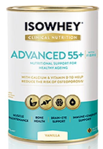 BioCeuticals IsoWhey Clinical Nutrition Advanced 55+ Vanilla 400g