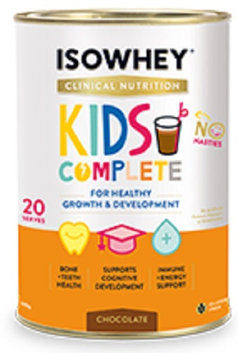 BioCeuticals IsoWhey Clinical Nutrition Kids Complete Chocolate 600g
