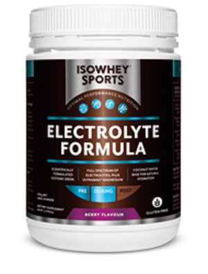 BioCeuticals IsoWhey Sports Electrolyte Formula Berry 500g powder 10% off RRP | HealthMasters