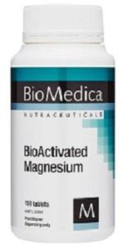 BioMedica BioActivated Magnesium 150 Tablets 10% off RRP | HealthMasters
