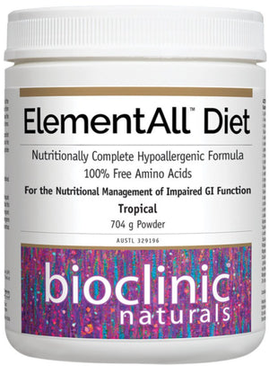 Bioclinic Naturals ElementAll Diet Tropical 704g 10% off RRP HealthMasters Bioclinic Naturals