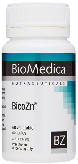 Biomedica BicoZn 60vc 10% off RRP | HealthMasters