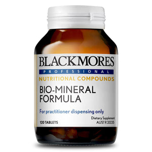 Blackmores Professional Bio-Mineral Formula 120 Tablets 10% off RRP at HealthMasters Blackmores