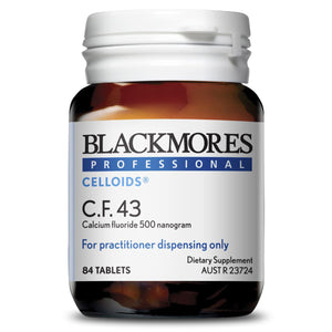 Blackmores Professional Celloids C.F.43 10% off RRP at HealthMasters Blackmores Professional Celloids