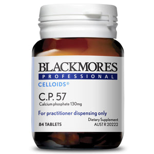 Blackmores Professional Celloids C.P.57 10% off RRP at HealthMasters Blackmores Celloids