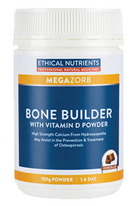 Ethical Nutrients MEGAZORB Bone Builder with Vitamin D Powder 150g | HealthMasters