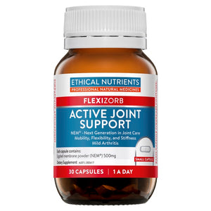 Ethical Nutrients Active Joint Support 30 Caps at HealthMasters