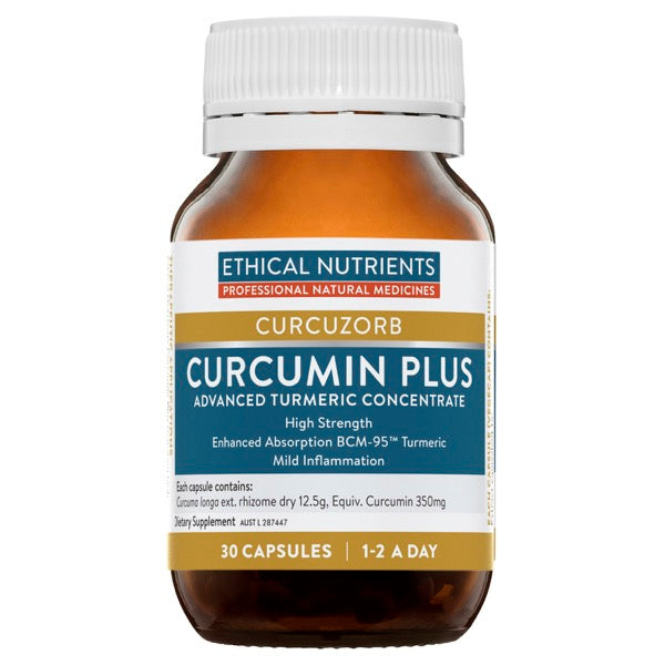 Ethical Nutrients CURCURZORB Curcumin Plus 30 Capsules