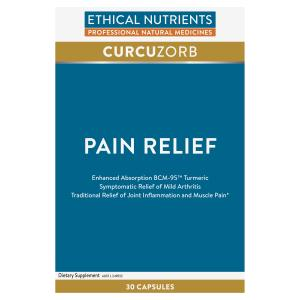 Ethical Nutrients CURCUZORB Pain Relief 30 Caps | HealthMasters