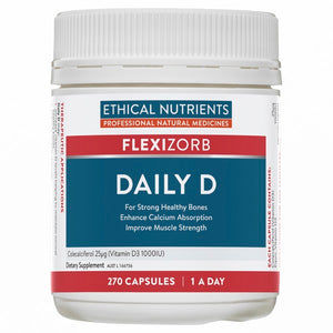 Ethical Nutrients FLEXIZORB Daily D 270 Caps | HealthMasters