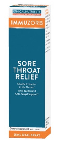 Ethical Nutrients Sore Throat Relief 25mL Discounted | HealthMasters