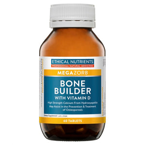 Ethical Nutrients MEGAZORB Bone Builder with Vitamin D 60 Tabs | HealthMasters