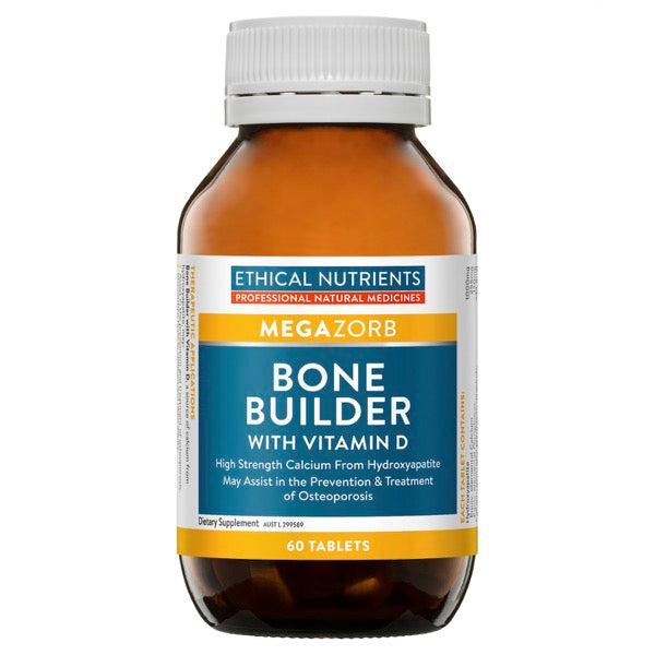 Ethical Nutrients MEGAZORB Bone Builder with Vitamin D 60 Tabs