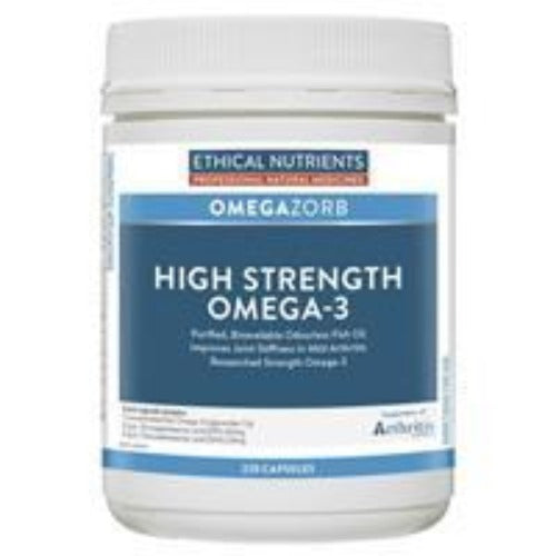 Ethical Nutrients OMEGAZORB High Strength Omega-3 220 Caps